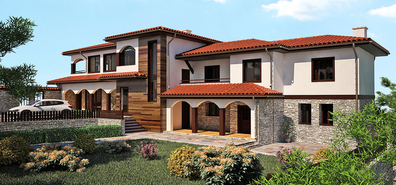 Guest House Vurben Shape Concept Architecture And